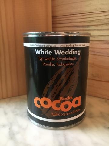 Becks Cocoa White Wedding 250g