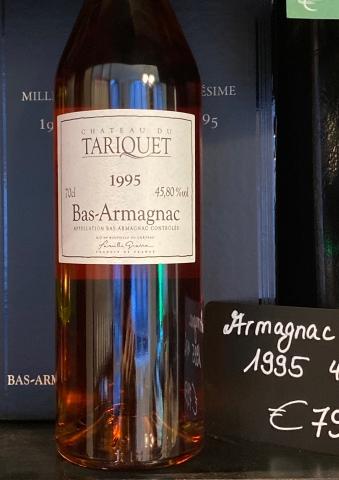 Bas-Armagnac 45,8° Jahrgang 1995